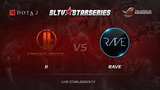 Idol vs Rave, game 1
