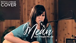 Taylor Swift - Mean (Boyce Avenue feat. Megan Nicole acoustic cover) on iTunes