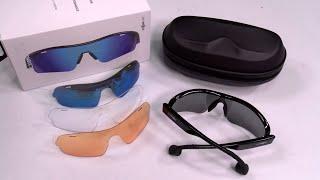 OptiShokz Revvez - Bone Conduction Audio Sunglasses