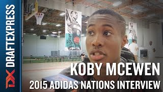Koby McEwen 2015 Adidas Nations Interview