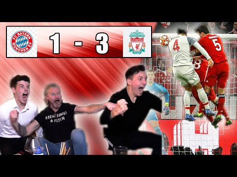 BAYERN MUNICH 1-3 LIVERPOOL FAN REACTION