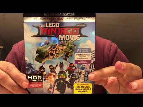 The Lego Ninjago Movie 4K Ultra HD Blu-Ray Unboxing