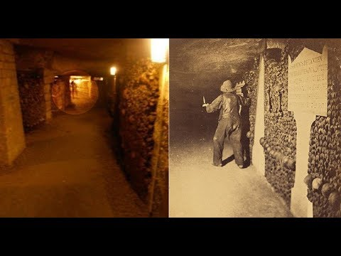 Top 10 Creepy Images Captured In Catacombs - Creepy Images - Scary Images