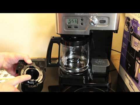 Review of the Hamilton Beach 2-Way Flexbrew Coffeemaker