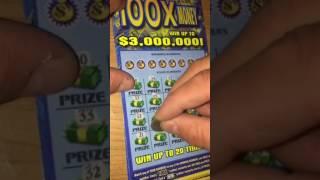 100X the money. Georgia tickets from GA scratcher.