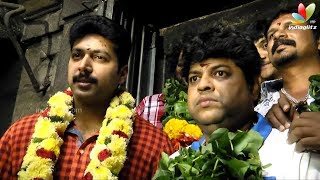 Jayam Ravi prays at Masana Kollai temple for Boologam | Trisha Krishnan, Prakash Raj
