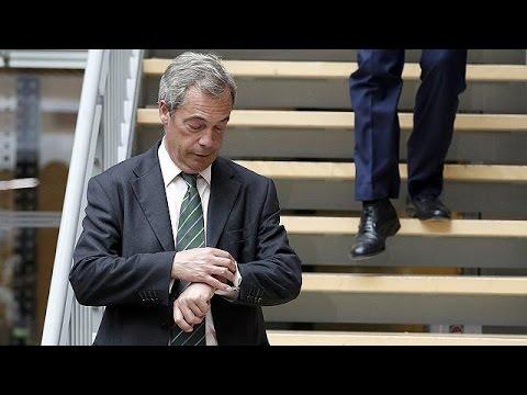 Βρετανία: Παραιτείται από την ηγεσία του UKIP ο Φάρατζ