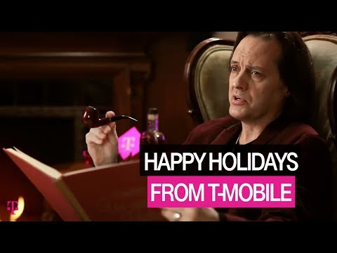 from - Listen closely as CEO @JohnLegere reads us a magical story from the land of the #Uncarrier. Happy Holidays to all, and to all a good night.