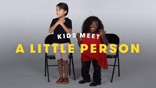 Video Kids Meet a Little Person | Cut MP3, 3GP, MP4, WEBM, AVI, FLV Agustus 2019