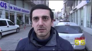 SAMSUN'DA HASTANE İNŞAATINDAKİ PATLAMA KORKUTTU!