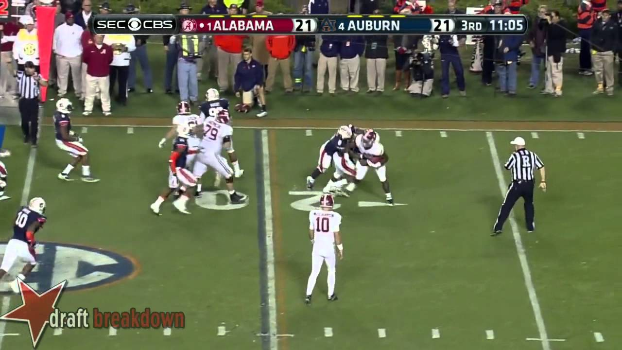 Dee Ford vs Alabama (2013)