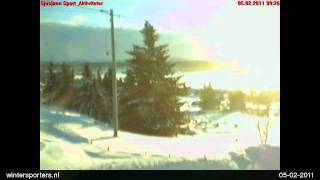 Sjusjøen webcam time lapse 2010-2011