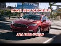 2018 Ford Fusion Review : Walkaround Interior Exterior: What's New for 2018?