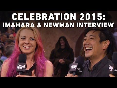 Grant Imahara and Jenny Newman Interview with StarWars.com | Star Wars Celebration Anaheim