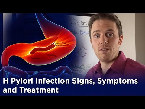 how to relieve symptoms of h pylori