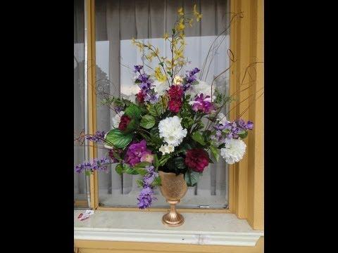 Jarrones con flores artificiales videos videos - Jarrones flores artificiales ...