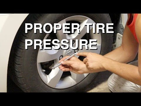 What is the Proper Tire Pressure?