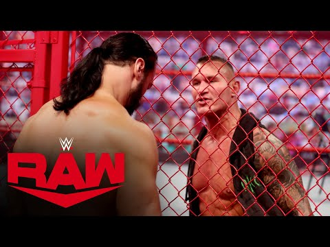 Drew McIntyre confronts Randy Orton inside Hell in a Cell: Raw, Oct. 19, 2020