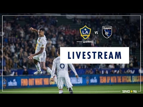 Video: LA Galaxy vs San Jose Earthquakes | LIVE STREAM