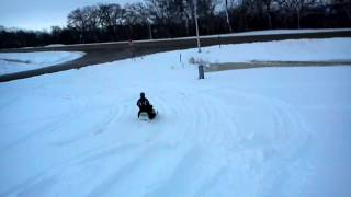 6. 2002 Arctic Cat Z570 drift banging
