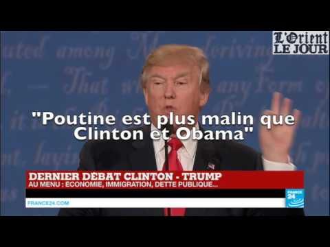 Dernier débat Clinton-Trump : les moments forts