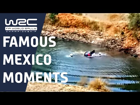 WRC History - Rally México incidents