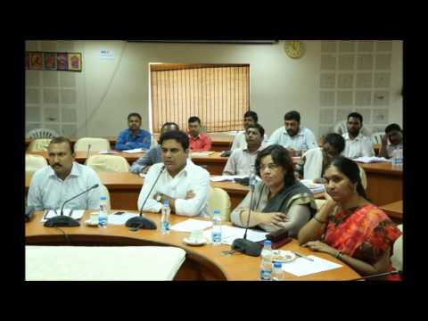 , KTR Held a Video Conference on Municipalities 2017