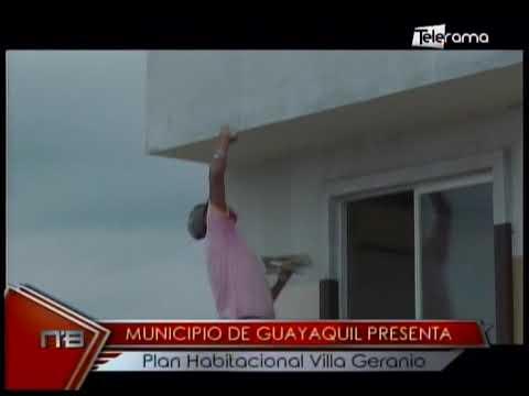 Municipio de Guayaquil presenta plan habitacional Villa Geranio