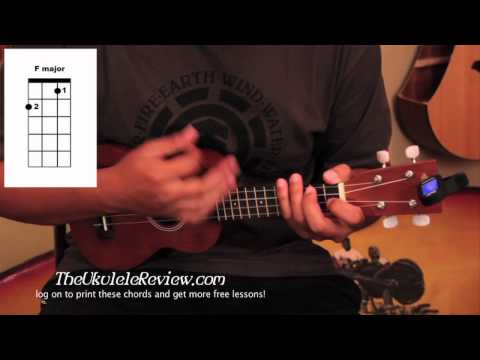 how to play buses and trains ukulele tutorial
