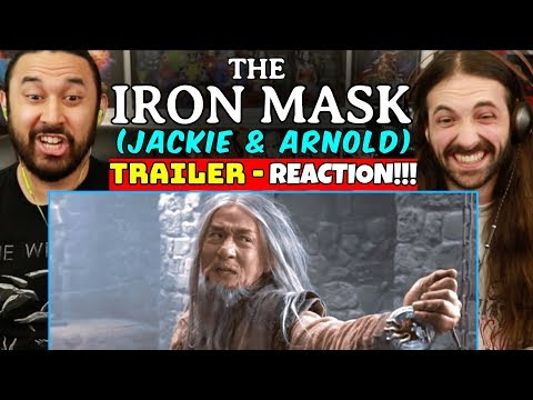 THE IRON MASK | Jackie Chan | Arnold Schwarzenegger | TRAILER REACTION!!!