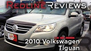 2010 Volkswagen Tiguan Review, Walkaround, Exhaust, Test Drive