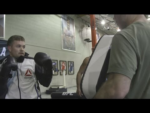 NASCAR Drivers train with UFC Fighters