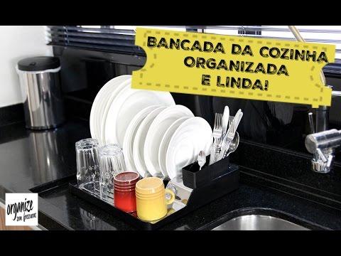 Dicas para organizar e limpar a bancada da cozinha (pia)