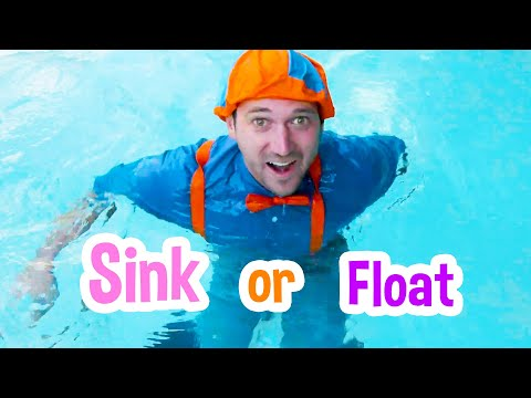 Sink or Float with Blippi | Cool Science Experiment for Kids | Educational Videos For Kids