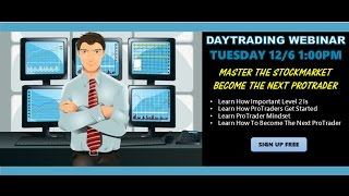 Day Trade For A Living Webinar