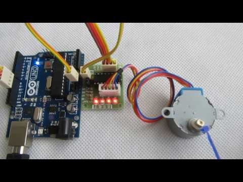 Stepper motor 28byj 48 with drive test module board for How to check stepper motor