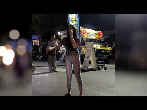 Demi Lovato - Stone Cold Street Performance by Sophia Ramos