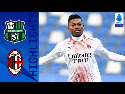 Sassuolo 1-2 Milan   Rafael Leão Scores Fastest Goal in Serie A TIM History!   Serie A TIM
