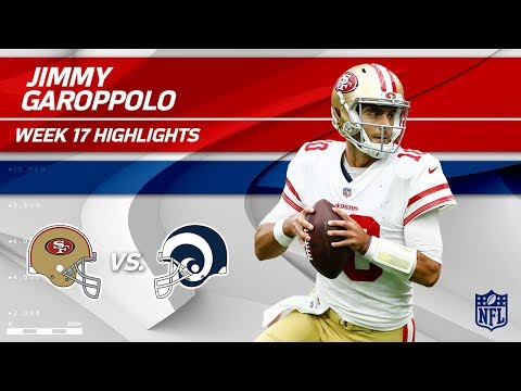 Video: Jimmy Garoppolo Highlights | 49ers vs. Rams | Wk 17 Player Highlights