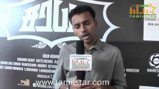 Director Arun Mohan at Sarabam Movie Team Interview