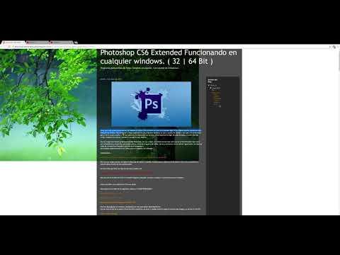 Photoshop 13 CS6 Extended con actualizacion 13.0.1 Funcionando en cualquier windows   32-64 Bit MEGA