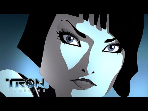 Paige and Quorra | TRON: Uprising | Disney XD