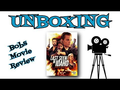Last Seen In Idaho DVD Unboxing