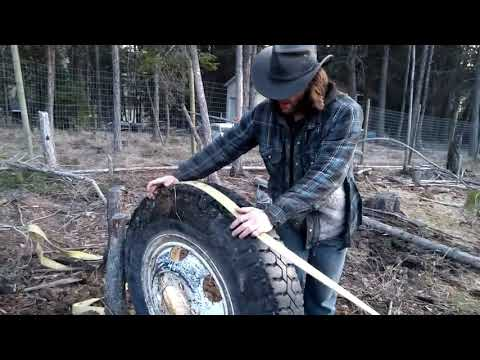 Pulling Stumps with a Wheel