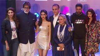 Video Full Bachchan Family At Shweta Bachchan's MxS Store Launch | Amitabh,Jaya,Aishwarya,Abhishek,Navya MP3, 3GP, MP4, WEBM, AVI, FLV Oktober 2018