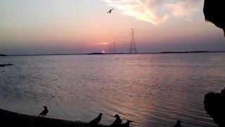Puttalam Sri Lanka  City pictures : beautiful sunset in puttalam beach sri lanka