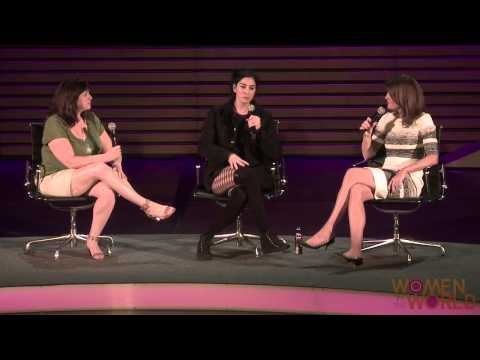 The comedian and her rabbi sister talk about their very different approaches to changing the world. Barbie Latza Nadeau reports from the Women in the World Summit