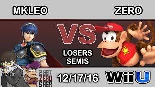 2GGT: ZeRo Saga – SF | MKLeo (Marth) Vs. TSM | ZeRo (Diddy Kong) Losers Semis – Smash Wii U