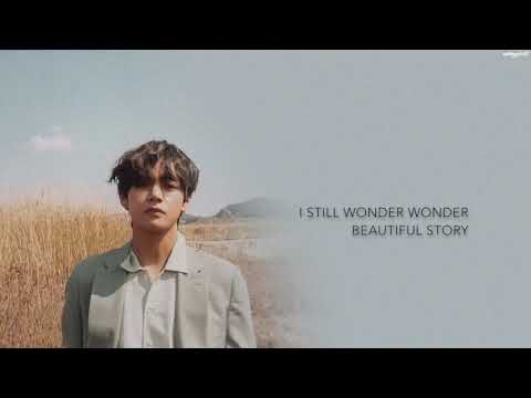 BTS V - '풍경 (Scenery)'  [Han|Rom|Eng lyrics]