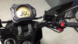 10. 2016 Yamaha Zuma 125 Start Up and Lights